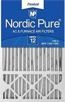 NORDIC PURE AIR FILTER 16X26X1 6 PACK