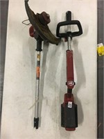 CORDLESS WEEDWACKER LINE TRIMMER SOLD AS IS