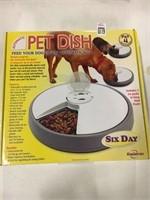 SIX DAY AUTOMATIC  PET DISH