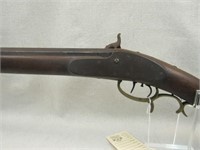 Unmarked Half Stock Side Precussion BP Rifle-