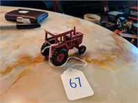 Vintage Case Tractors, Toys, Signs and Military Vehicles