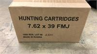 1000rd Case 7.62x39-