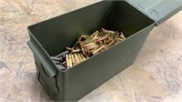 Can of Assorted .223 and 7.62x39-