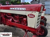 1959 McCormick Farmall 560, Wide Front, Gas, Block