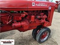 1954 McCormick Farmall Super C, Narrow Front, 10-3