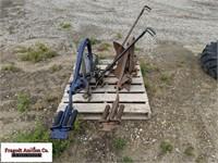 (2) 1 Bottom Pull Type Plows, Manual Adjust, Singl