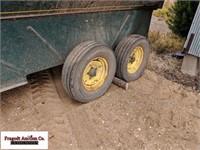 Grain O Vator Self Unloading Wagon, 540 PTO, Tande