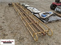 Approx 16' Bale Conveyor with Electric 1/2hp Motor