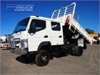 2012 Fuso Canter FG 4x4 Crew Cab Tipper