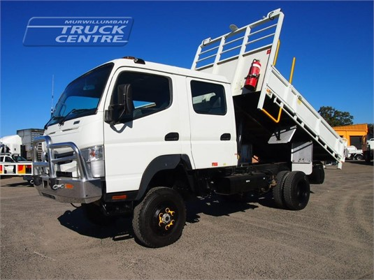 2012 Fuso Canter FG 4x4 Crew Cab Murwillumbah Truck Centre - Trucks for Sale