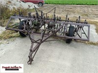 2 Row Pull Type Planter, unknown working condition