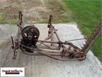 Mounted sickle mower, unknown working condition, 5