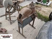 John Deere hand crank sheller
