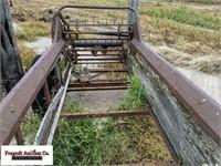 Model L ground driven manure spreader, needs work
