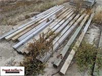"(14) 4"" x 4"" x 9' wood posts"