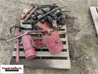 Pallet of misc parts and equipment