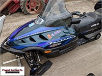 1999 Arctic Cat Panther 550 2 person snowmobile, 1