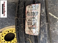 (2) 11:-15 Implement tires on 6 bolt implement rim