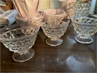 GLASSWARE/DESSERT BOWLS/SERVING TRAYS