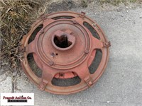 Misc rear tractor wheel weights