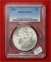 Weekly Coins & Currency Auction 8-16-19