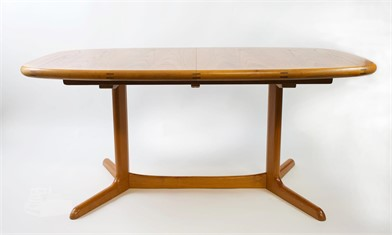 Danish Modern Ansager Mobler Dining Table Other Items For