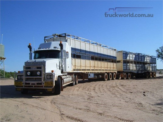 1988 Ophee Stock Crate Trailer - Truckworld.com.au - Trailers for Sale