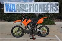 2011 KTM 85SX Dirt Bike