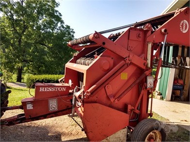 HESSTON 5500 For Sale - 4 Listings   TractorHouse com - Page