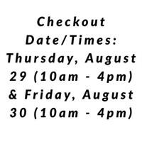 Checkout Date/Times: