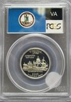 2000-S Virginia Washington Silver Quarter. PCGS