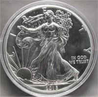2016 One Ounce Fine Silver Eagle.