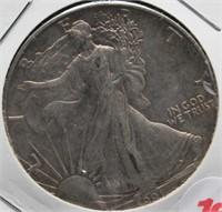 1991 One Ounce Fine Silver Eagle.