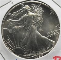 1992 One Ounce Fine Silver Eagle.