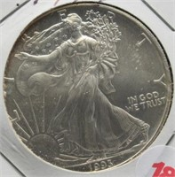 1993 One Ounce Fine Silver Eagle.