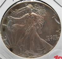 1993 One Ounce Fine Silver Eagle.