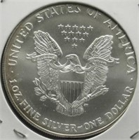 2001 One Ounce Fine Silver Eagle.