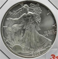 2003 One Ounce Fine Silver Eagle.
