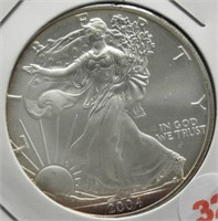 2004 One Ounce Fine Silver Eagle.