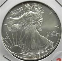 2008 One Ounce Fine Silver Eagle.