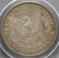 1889 Morgan Silver Dollar.
