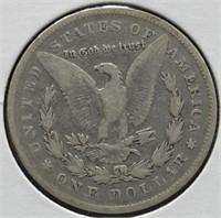 1878 Morgan Silver Dollar.