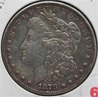 1878-S Morgan Silver Dollar.