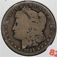 1903-S Morgan Silver Dollar.