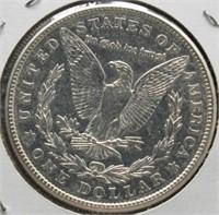 1921 Morgan Silver Dollar.