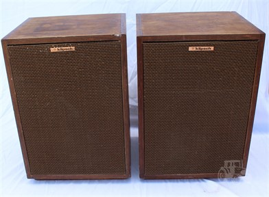 Marvelous Pair Of Legendary Klipsch Heresy Loudspeakers Other Items Theyellowbook Wood Chair Design Ideas Theyellowbookinfo