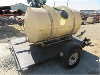 OFF-ROAD Project Poly Tank on Farm Trailer