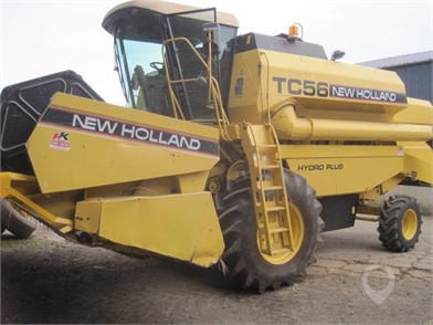 NEW HOLLAND TC56 for sale in the United Kingdom - 3 Listings