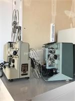 (2) Film Projectors