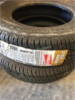 (2) 145R12 72T Tires
